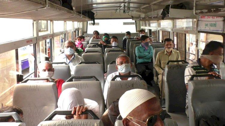 જામનગર:આજથી શરુ થઇ એસ.ટી.બસો