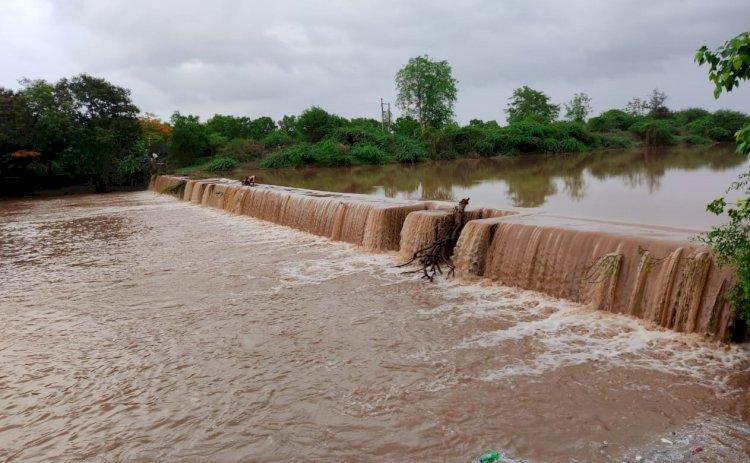 દ્વારકા જિલ્લામાં સાર્વત્રિક વરસાદ