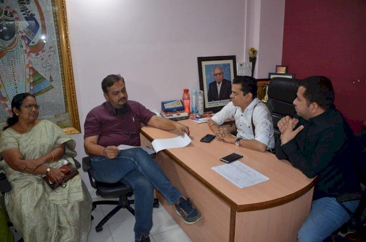 જામનગર ભાજપ સંગઠનના હોદેદારો અને JMC ના નવનિયુક્ત પદાધિકારીઓ Mysamachar ની શુભેચ્છા મુલાકાતે