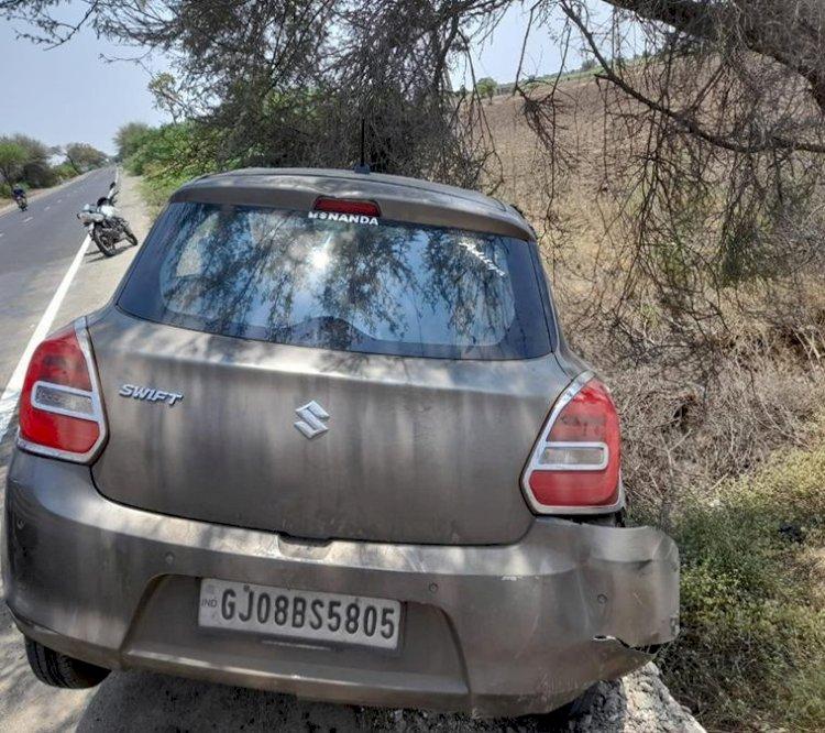 ધ્રોલના લતીપુર નજીક બનાસકાંઠાની કારનો અકસ્માત, 2 ના મોત