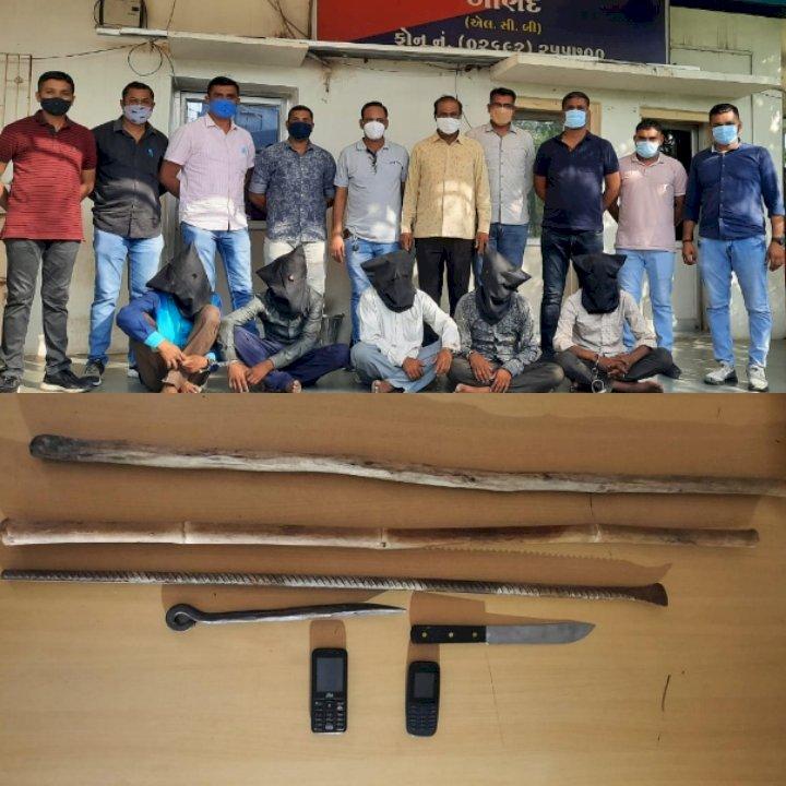 5 શખ્સોની ગેંગ પોલીસને હાથમાં આવતા 28 ગુન્હાઓનો ભેદ ઉકેલાઈ ગયો