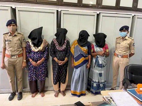 સાંસી ગેંગની મહિલાઓ છેલ્લા 5 વર્ષથી ગુજરાત અને રાજસ્થાનમાં સક્રિય,આ રીતે નાણા પડાવી લેતી
