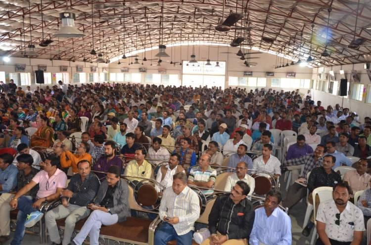 ગુજરાત રાજ્ય આરોગ્ય કર્મચારી મહાસંઘનું એકતા સંમેલન જામનગરમાં યોજાયું..
