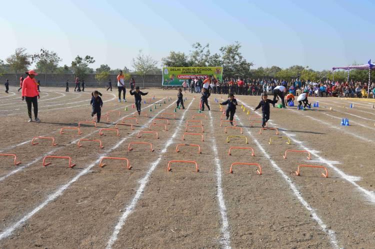 દિલ્હી પબ્લિક સ્કૂલ ખાતે વાર્ષિક રમતોત્સવ યોજાયો
