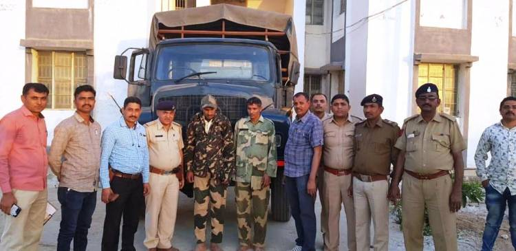 BSFના સ્વાંગમાં ગુજરાતમાં દારૂ ઘુસાડવાના નેટવર્કનો પર્દાફાશ..