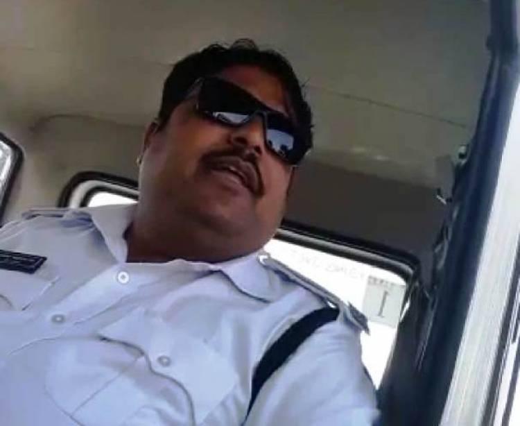રાજકોટ:જે ટ્રાફિક પોલીસનો VIDEO થયો હતો વાઇરલ તેની સામે થઈ આ કાર્યવાહી