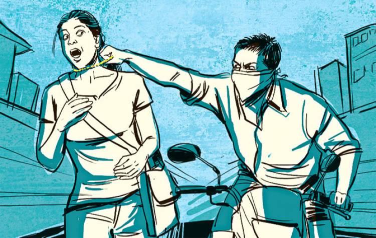 સૌરાષ્ટ્રમાં ચીલઝડપ કરતી ગેંગના બે શખ્સો ઝડપાયા