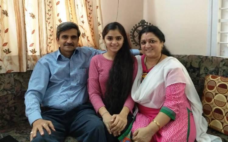 PGVCL ના અધિક્ષક ઈજનેર એ.કે.મહેતાની પુત્રી રાજ્યમાં ૮માં ક્રમે...