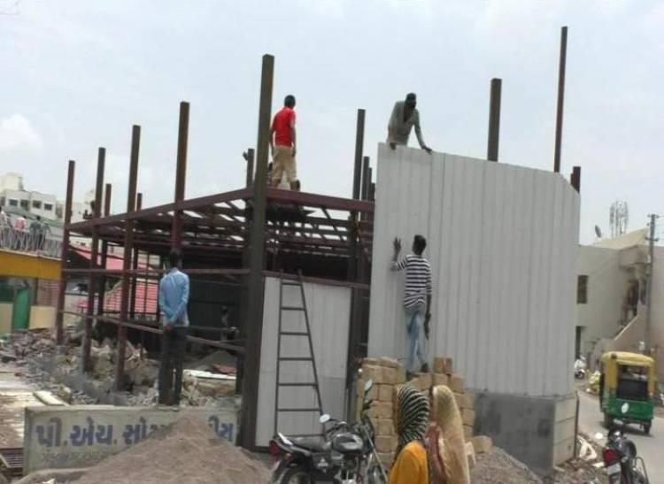 આ છે જામનગર મહાનગરપાલિકાની TPO બ્રાંચ, નોટીસ આપે ૧૫૦ને અમલવારી ૧૦માં.!