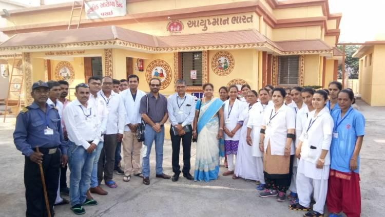 પ્રાથમીક આરોગ્ય કેન્દ્ર વસઇ ને ભારત સરકાર દ્વારા શ્રેષ્ઠએવોર્ડ