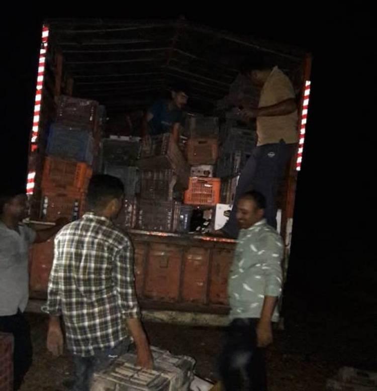 જામજોધપુરના વાંસજાળિયા ગામેથી પોલીસે ઝડપી પાડ્યો લાખોનો અંગ્રેજી શરાબનો જથ્થો