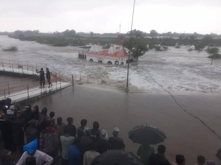 જામનગર જીલ્લામાં 12 વાગ્યા સુધીમાં પડ્યો આટલો વરસાદ અને આ ડેમોમાં થઈ પાણીની આવક