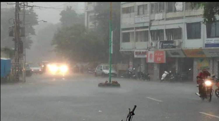 જામનગર જીલ્લામા છેલ્લા ચોવીસ કલાકમા કેટલો પડ્યો વરસાદ જુઓ