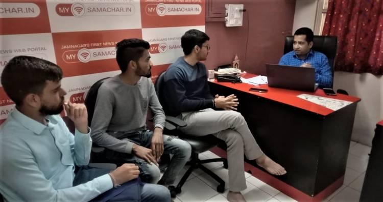 જામનગરના યુવા સમર્થ ભટ્ટની ABVPના સ્ટેટ મીડિયા ઇન્ચાર્જ તરીકે વરણી